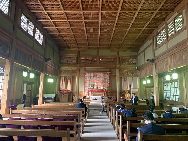 日本聖公会 奈良基督教会 礼拝堂1
