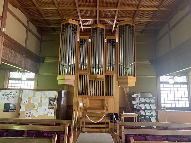 日本聖公会 奈良基督教会 礼拝堂2